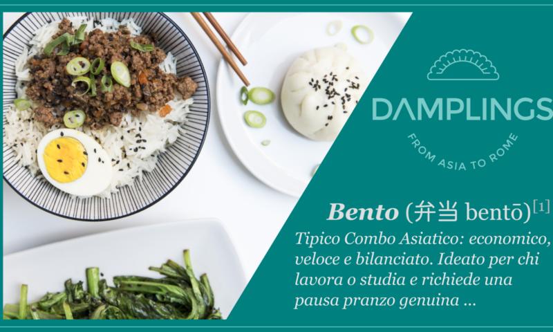 I Nuovi DAMPLINGS' Lunch Bento sono qui !!!